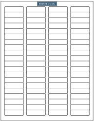 Blank Labels 8000 Address Labels - 100 Sheets Of Compatible With Word Template Return Address Labels. Laser And Ink Jet Printer Compatible. 8 000 Brand.