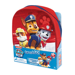 Paw Patrol 3 Puzzle In Backpack