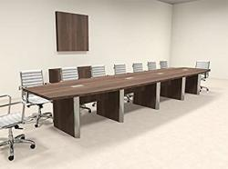 Modern Boat Shaped 18' Feet Conference Table OF-CON-CP24