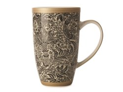 Maxwell & Williams William Morris Seaweed Coupe Mug 420ML Black