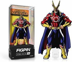 Figpin My Hero Academia: All Might - Collectible Pin With Premium Display Case - Not Machine Specific