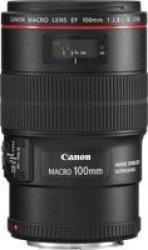 Canon Ef 100 Mm F 2.8L Is Usm Macro Lens