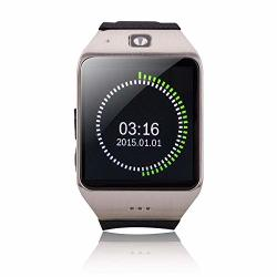 Studyset Smartwatch 1.55 Inch Capacitive Touch Screen Watch Phone Fitness Function Outdoor Sport Pedometer