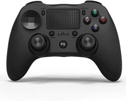 Game Controller For PS4 Controller Wireless Bluetooth Dual Vibration Controller With Gyroscope For Playstation 4 PS3 Windows Android.