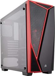 Corsair Carbide SPEC-04 Mid-tower Gaming Case Tempered Glass- Red