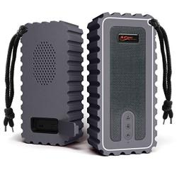 EWarehouse Waterproof Bluetooth Speaker With Fm Radio IP67 Rated Fully Submersible Dust Shock And Scratch Proof 6W Power With 8