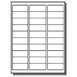 Next Day Labels Fba Laser Ink Jet Labels For Bar Code Asin Box Labels Pallet Labels 50 Sheets 30 Up Labels = 1500 Labels