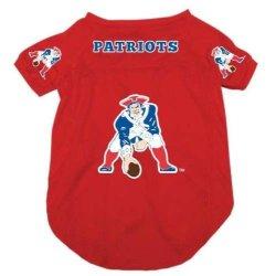 New England Patriots Pet Dog Football Jersey Medium