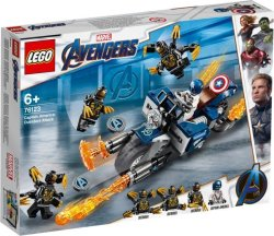 Lego Marvel Super Heroes Avengers Captain America: Outriders Attack