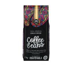 M Brand Coffee Beans Guatamala 1 X 1KG
