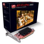 Sapphire Firepro 2460 - For Professional 2d Commerical Graphics - 4x Outputs