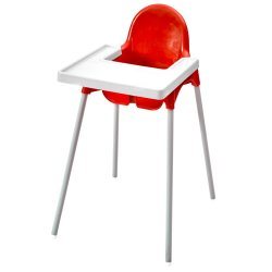 BABYLINKS Feeding Chair Red Red Sa
