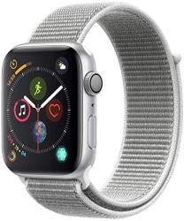 Applewatch SERIES4 Gps 44MM - Silver Aluminium Case With Seashell Sport Loop Renewed