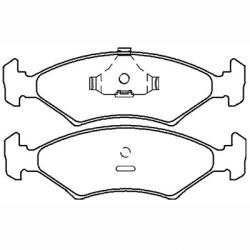 Deals on Rhyno Brake Pads Front: Ford Fiesta Bantam Mazda