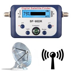 Digital Satellite Finder Meter With Lcd Display & With Compass | R198 00 |  Accessories | PriceCheck SA