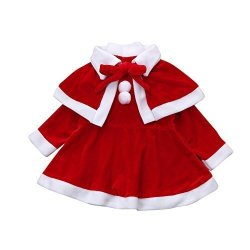 Toddler Christmas Outfit.Hide On Bush Fashion Toddler Kids Baby Girls Christmas Clothes Costume Party Dresses Shawl Hat Princess Outfit 150 Red R540 00 Fancy Dress