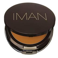 Iman Second To None Cream To Powder Foundation Medium Skin Clay 3