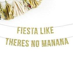 Fiesta Like Theres No Manana Banner || Taco Theme