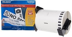 Brother 4 X 100 Feet Continuous Length Paper DK2243 - Retail Packaging