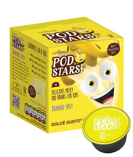 Caffeluxe Pod Stars Banana Split 10 Capsules