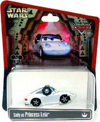 Mattel Disney Cars Star Wars Sally As Princess Leia Disney 1:55 Scale Limited Edition