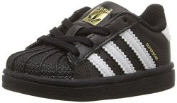 Adidas Originals Baby Superstar I Sneaker Core Black Ftwr White Ftwr White 4K M Us Infant