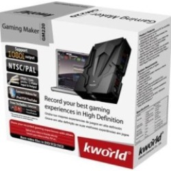 Kworld Gaming Maker:Record Games Console Footage