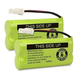 QTKJ BT183342 BT162342 BT166342 BT283342 BT266342 BT262342 Cordless Phone Battery For Vtech CS6114 CS6419 CS6719 DS6151 At&t CL4940 EL52300 CL80111 Cl