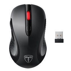 VicTsing 2.4G Wireless Mouse Wireless Optical Laptop Mouse With USB Nano Receiver