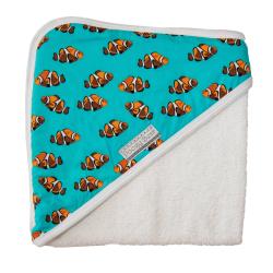 Poogy Bear Hooded Towel Clown Fish