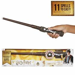 Harry Potter 's Wizard Training Wand - 11 Spells To Cast