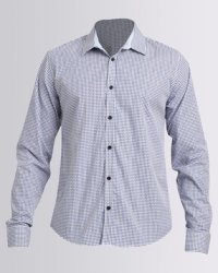 7c05d2c677ac Deals on Beaver Canoe Victor Solero Gingham Check Shirt Navy ...
