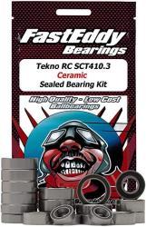 USA Tekno Rc SCT410.3 Ceramic Rubber Sealed Bearing Kit