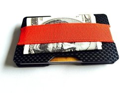 Carbon Fiber Glossy Credit Card Business Card Holder Double Concave Plate