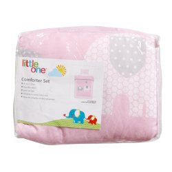 LITTLE ONE - Comforter Set Eli Pink