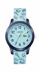 Lacoste Kids' TR90 Quartz Watch With Rubber Strap Blue 14 Model: 2030013