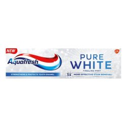 Aquafresh Pure White Toothpaste Soft Mint