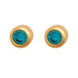MEDISYSTEM - Surgical Steel Gold MINI Stud Earring