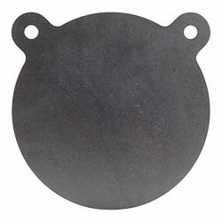 SHOOTINGTARGETS7 - AR500 Steel Gong Target - 8 X 3 8 Inch For Rifles To 308 - Laser Cut Usa Steel