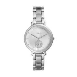 Fossil Jacqueline Women Silver Stainless Steel Watch