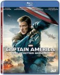 Captain America 2: The Winter Soldier 2D 3D Blu Ray