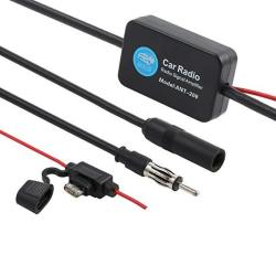 Proster 12V 25DB ANT-208 Car Fm Radio Antenna Amplifier Booster With  Indicator Model | R499 00 | Network Accessories | PriceCheck SA