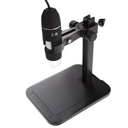New USB 8 LED 500X 2MP Digital Microscope Endoscope Magnifier Video Camera with Suction Cup Stand by ShopIdea