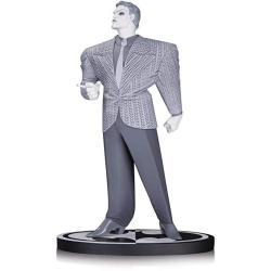 "DIAMOND Comic Distributors The Joker By Frank Miller The Dark Knight Returns : 7.25"" Dc Collectibles Batman Black & White Statue Figurine + 1 Free Official Dc Trading Card Bundle 34225"