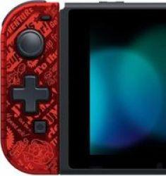 Hori D-pad Joy-con For Nintendo Switch - Super Mario Left Hand Side