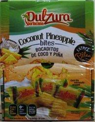 Dulzura Borincana Coconut - Pineapple Coco Pi A Bites - 50 Packs