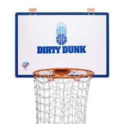 The Dunk Collection Dirty Dunk - The Original Over-the-door Basketball Hoop Laundry Hamper