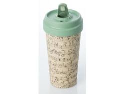 ChicMic Bamboo Travel Mug 400ML Music Notes