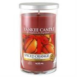 Yankee Candle Spiced Orange Medium Pillar Jar Retail Box No Warranty