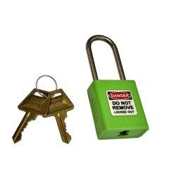 Union Lockout Padlock Green Kd